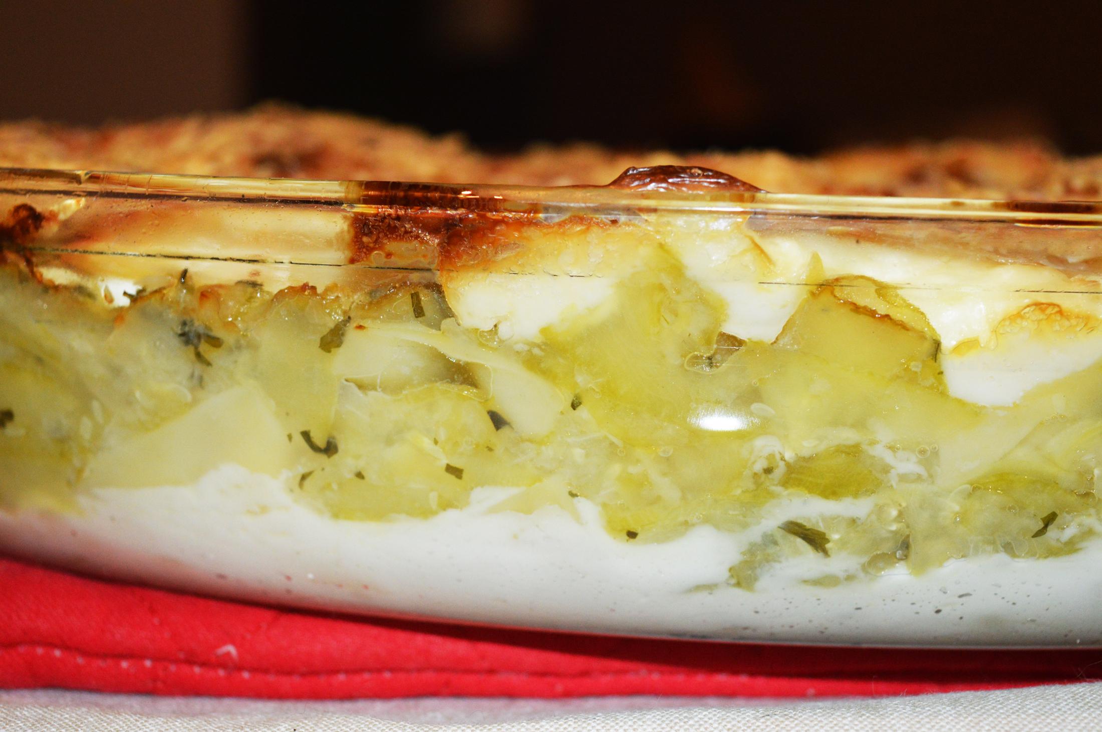 lasagne courgette