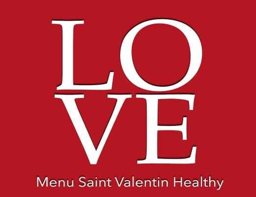 menu de saint valentin