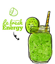 smoothie le fresh energy