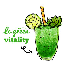 smoothie le green vitality