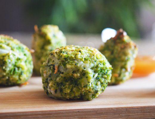 bouchées de brocolis