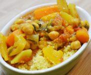 Couscous aux légumes végétarien