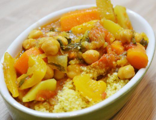 couscous aux légumes veggie