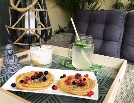 recette pancakes moelleux healthy