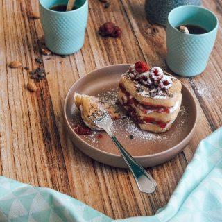 pain perdu à la cannelle healthy et Vegan